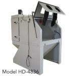 Large sandblast cabinets, more options, still affordable!